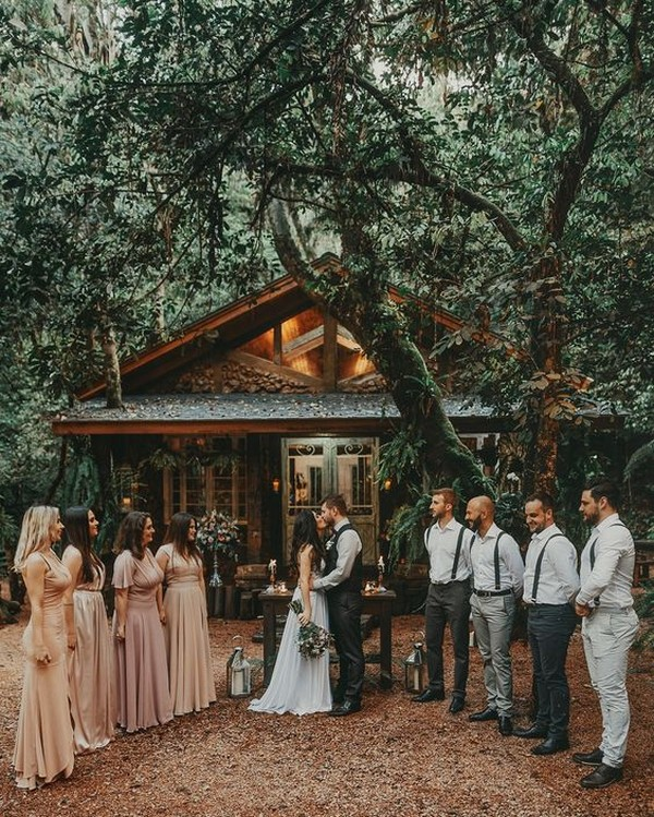 backyard intimate small wedding ideas