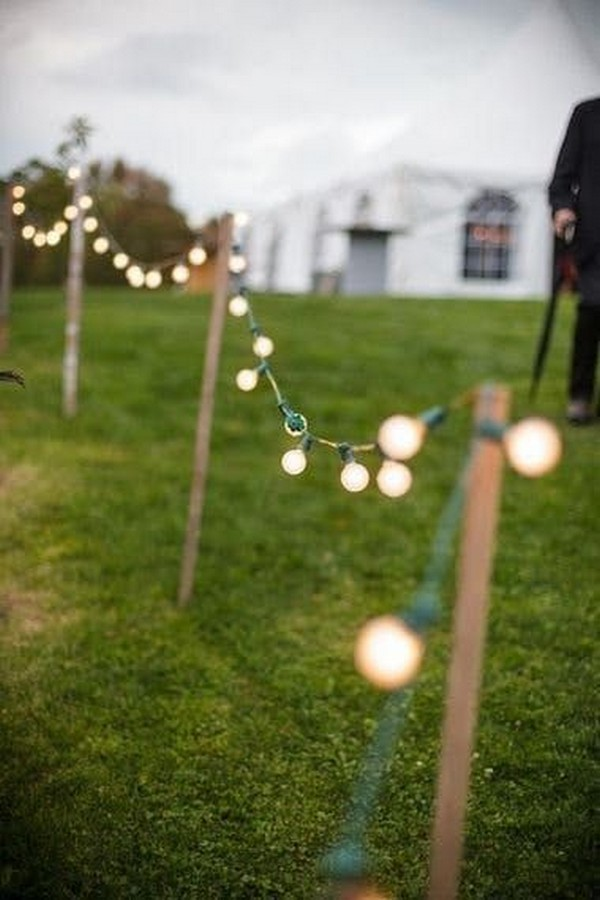 backyard small wedding decoration ideas