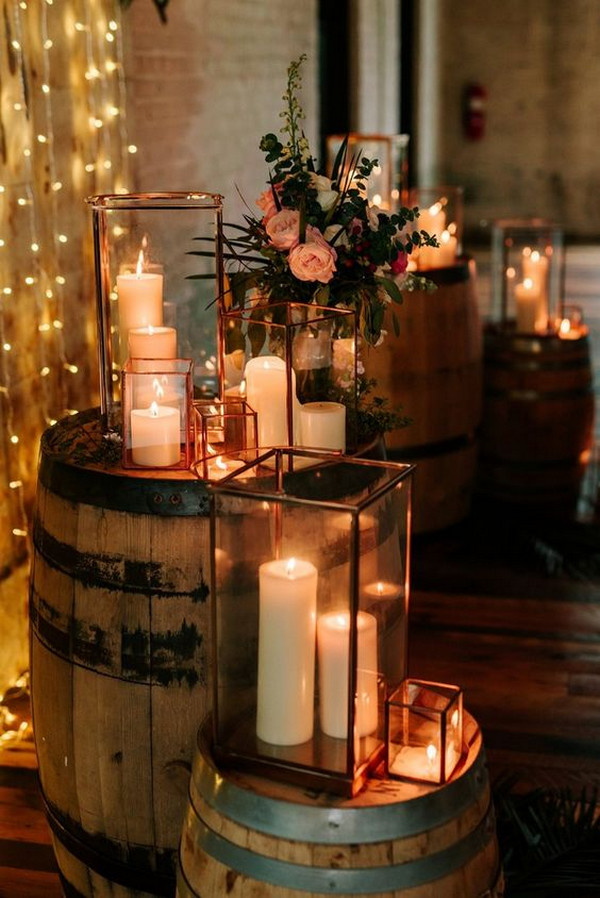 chic rustic wedding decoration ideas