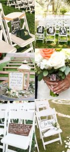 outdoor wedding ideas to honor loved ones