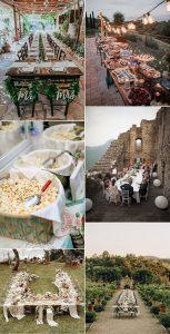 small intimate wedding reception ideas