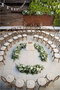 small wedding ceremony seating ideas on a budget