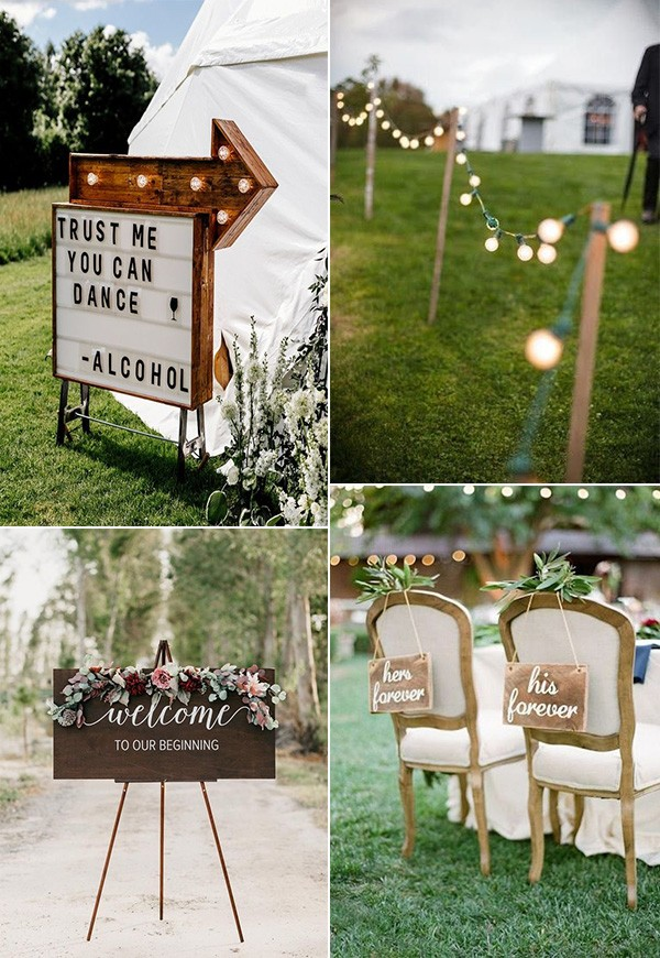 wedding decoration ideas on a budget