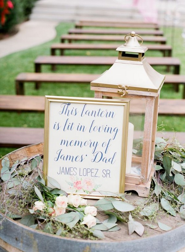 wedding ideas to honor loved ones