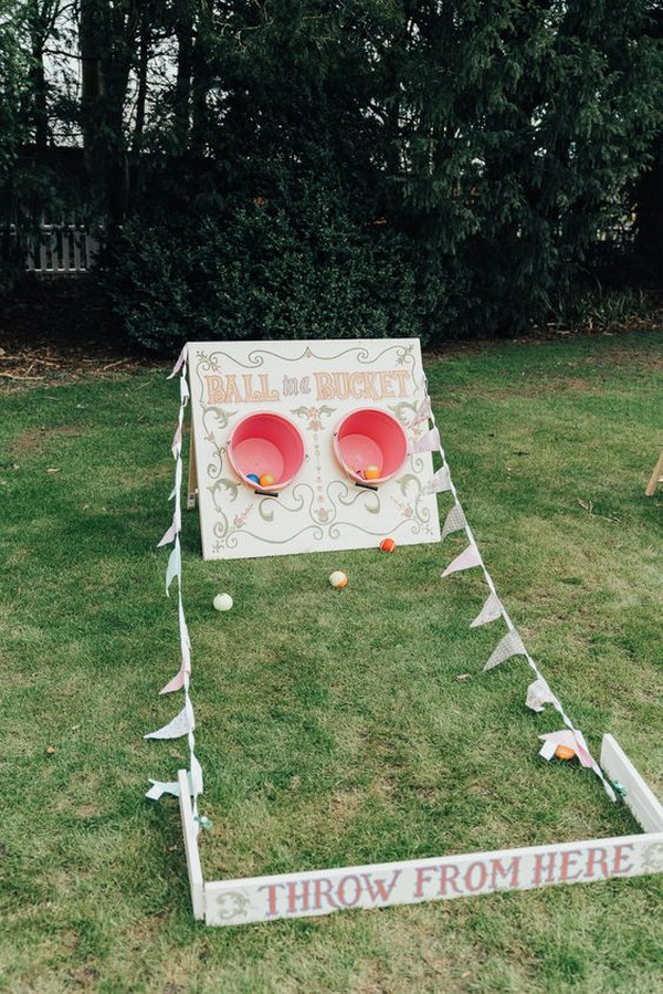 Game Fete Hoop Backyard Wedding Ideas