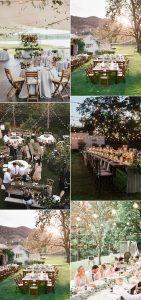 backyard outdoor wedding reception ideas