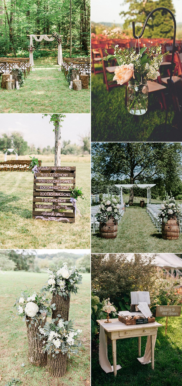 42 Backyard Wedding Ideas On A Budget For 2021 Oh Best Day Ever