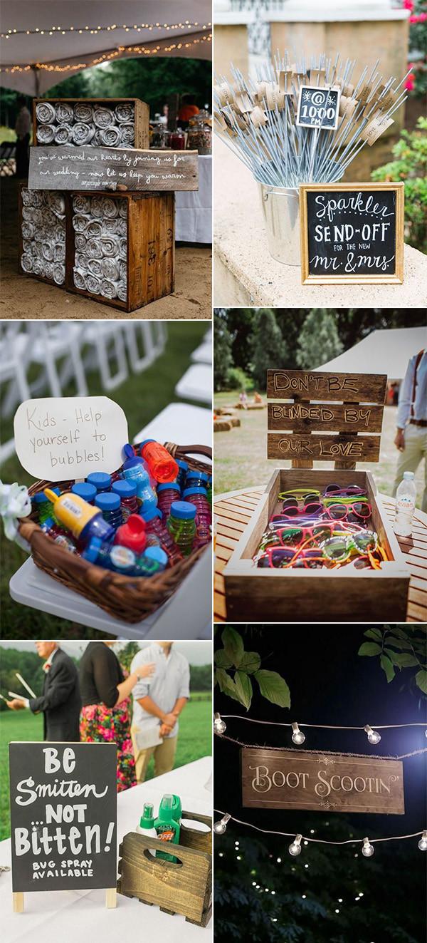 backyard wedding detail ideas