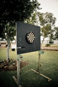 backyard wedding game ideas for guests