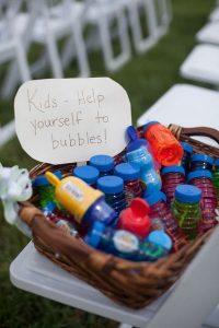 backyard wedding ideas for kids