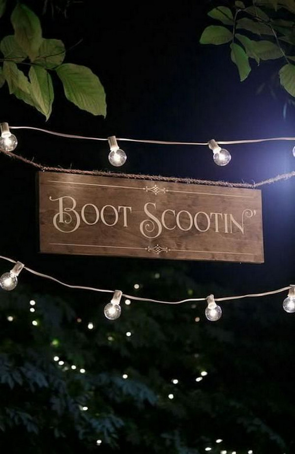 backyard wedding photo booth ideas