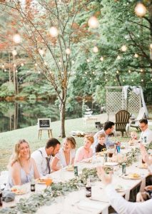 budget friendly backyard wedding reception ideas