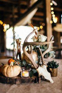 rustic fall wedding centerpiece ideas