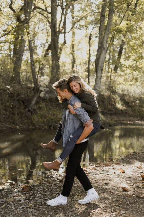 sweet wedding engagement photo ideas