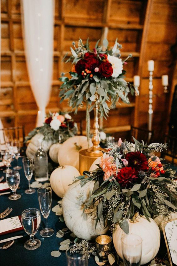 vintage fall wedding centerpiece ideas for 2021