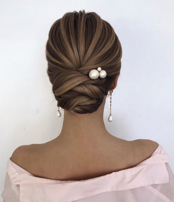 elegant bridal hairstyle updos