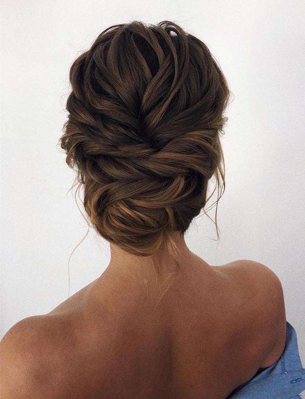 elegant wedding hairstyle updos