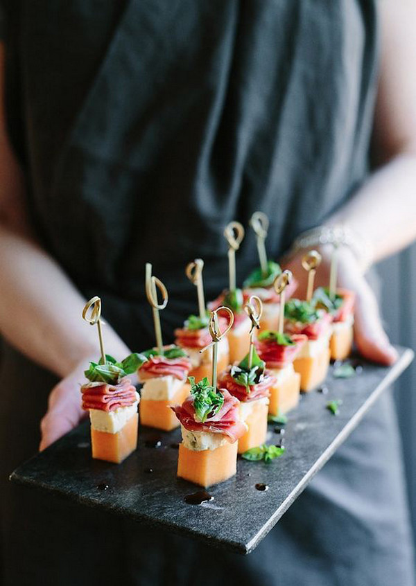 finger food for wedding reception ideas