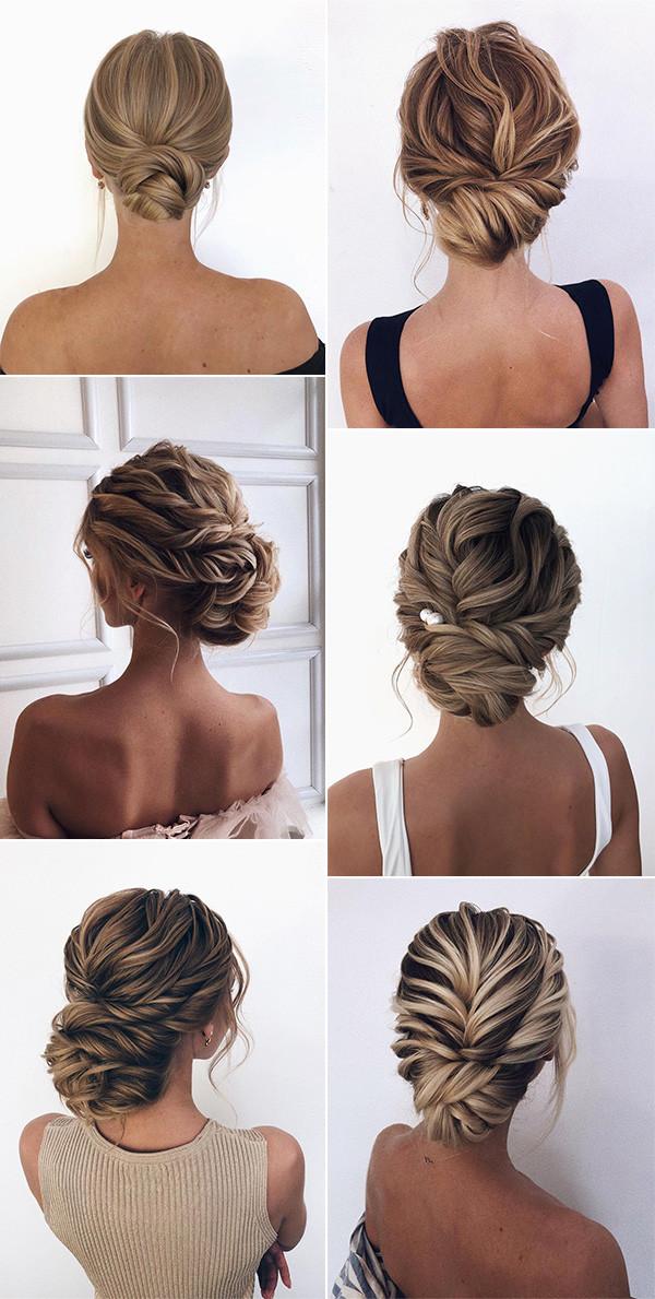 20 Classic Updo Wedding Hairstyles From Oksana On