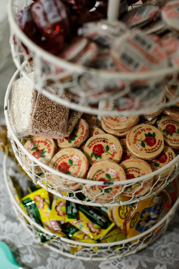 Mexican candy at wedding reception