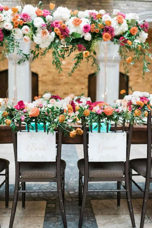 Mexican themed wedding decoration ideas for reception