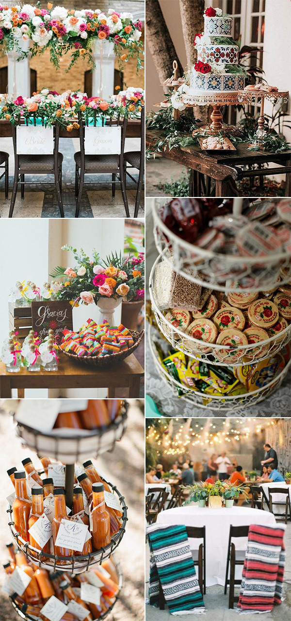 Mexican themed wedding ideas for 2020