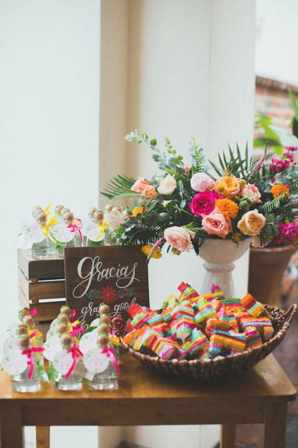 Mexican wedding decoration ideas