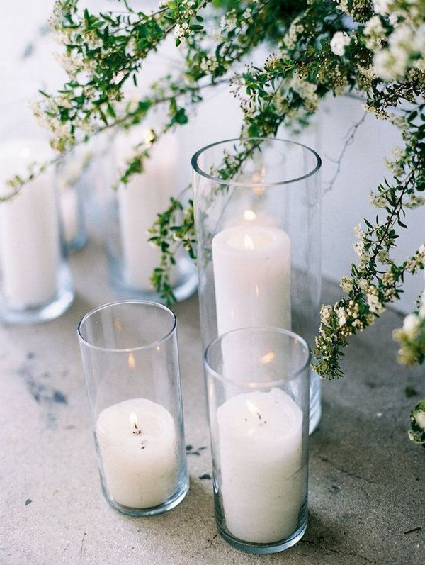 Modern Minimalist Wedding decoration ideas