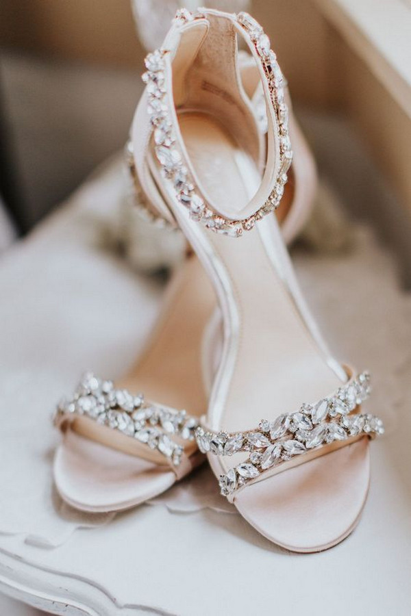 nude comfortable wedding shoes flat