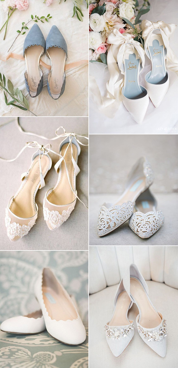 pretty flat wedding shoes for 2020