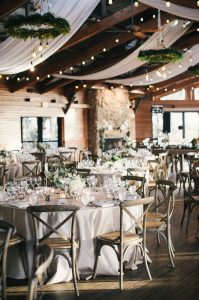 chic barn wedding reception ideas with s