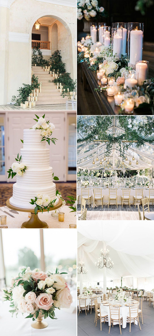 classic elegant wedding decoration ideas