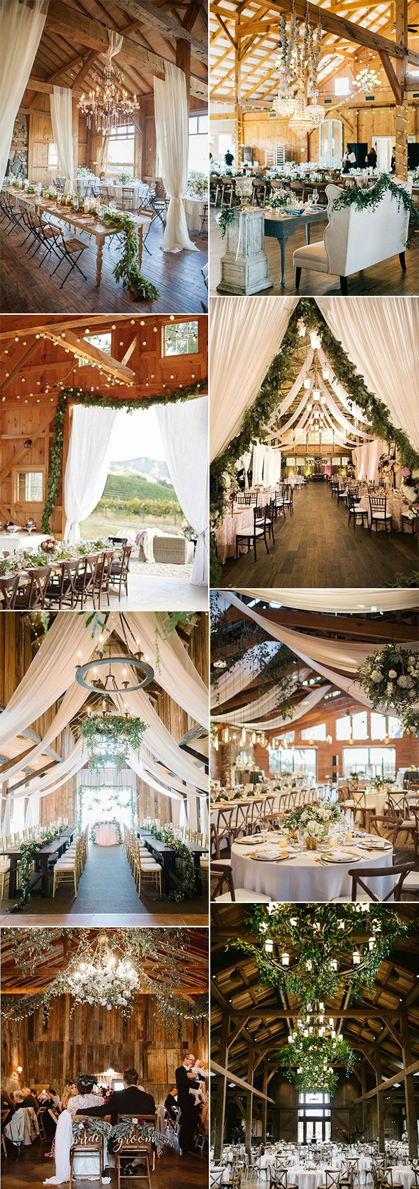 country rustic barn wedding reception ideas for 2020