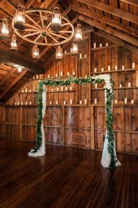 country rustic wedding arch ideas