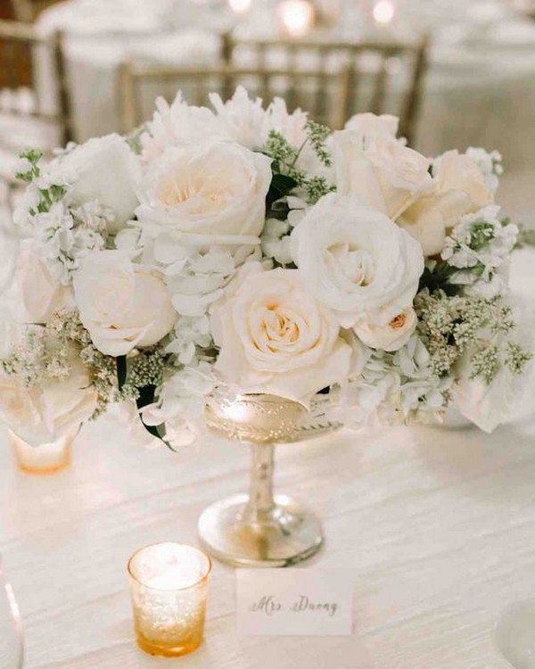 elegant classic wedding centerpiece ideas