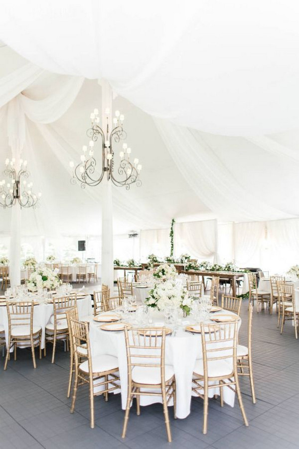 elegant classic wedding reception ideas