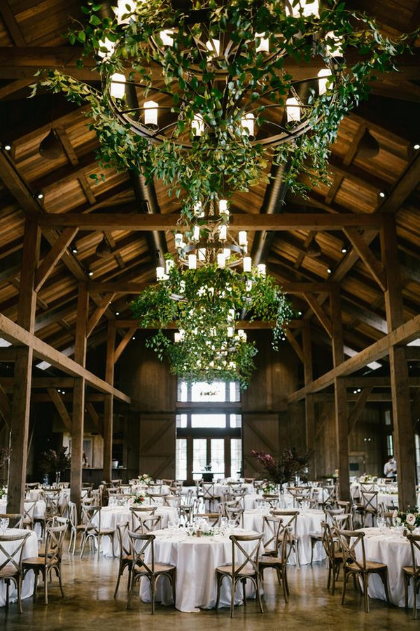 enchanting boho barn wedding reception ideas