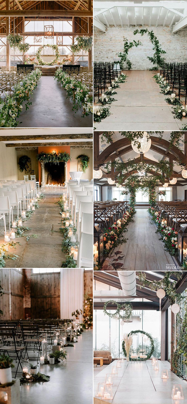 indoor wedding ceremony ideas for 2020