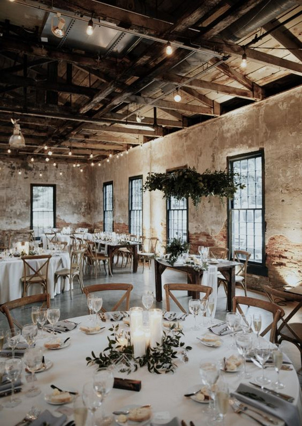 simple chic wedding reception ideas