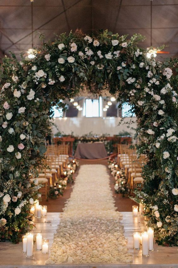 wedding ceremony entrance decoration ideas