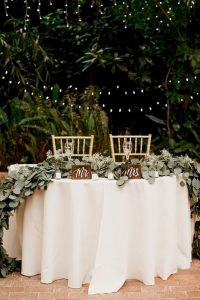 wedding sweetheart table decoration ideas