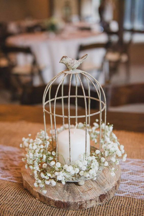 diy budget friendly vintage wedding centerpeice