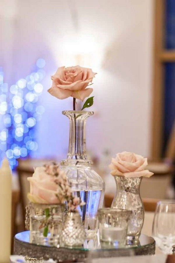 simple diy vintage wedding centerpiece ideas