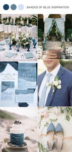 trending shades of blue wedding color ideas for 2020