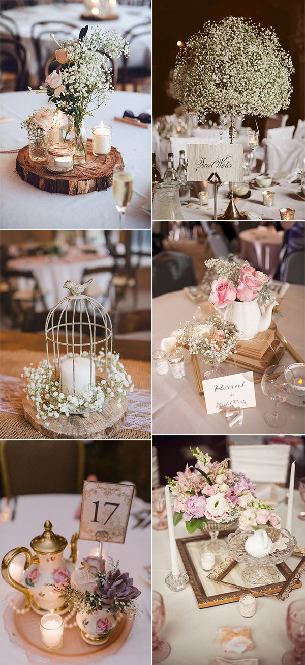 vintage wedding centerpeices for 2020 trends
