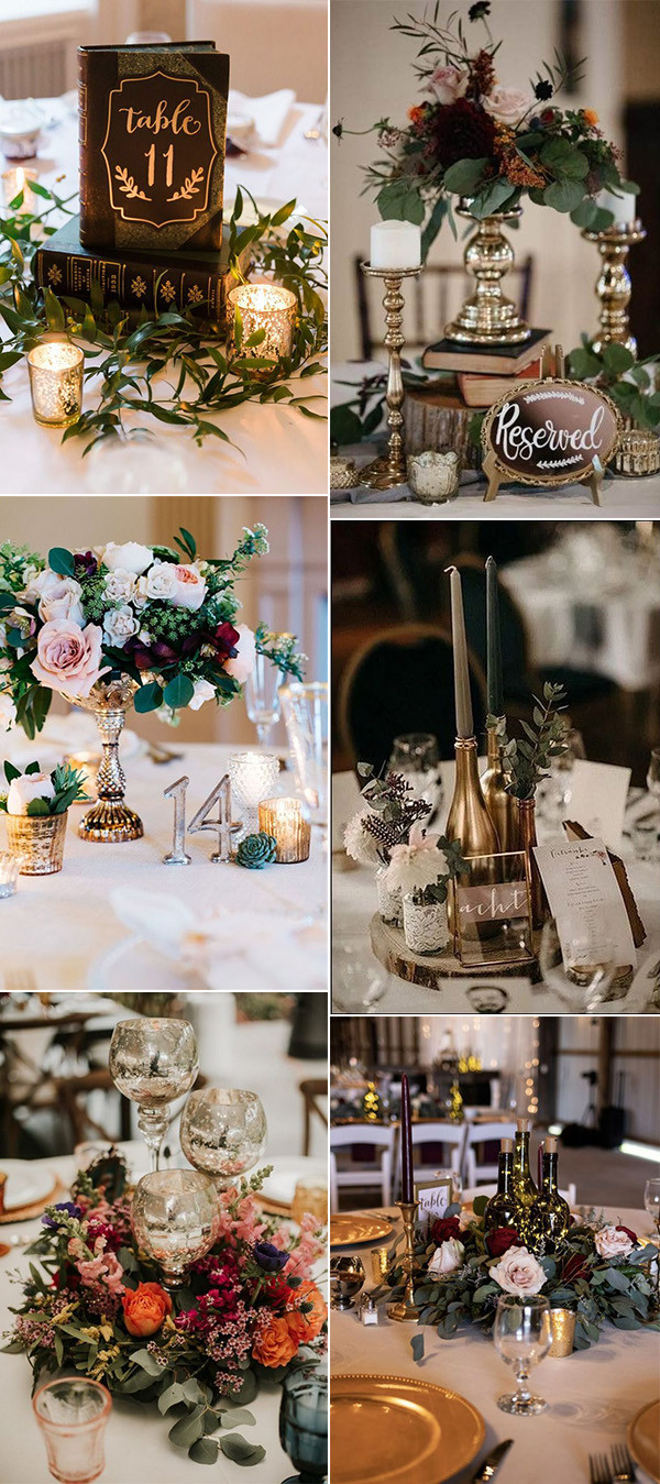 vintage wedding centerpiece ideas for 2020