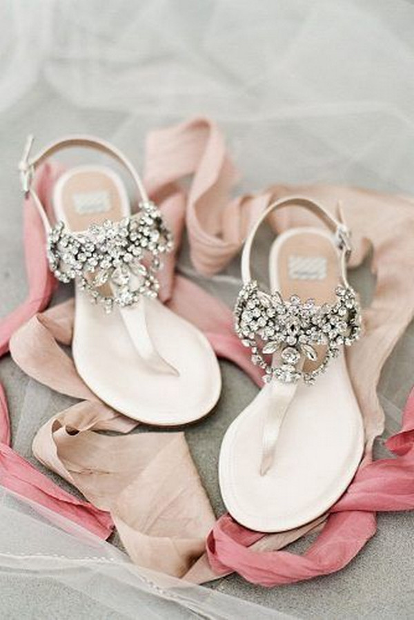 comfortable wedding sandals