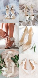 elegant nude wedding shoes for 2020 brides