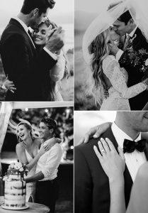 romantic bride and groom wedding photograghy ideas