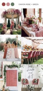shades of dusty rose wedding color ideas for spring and summer